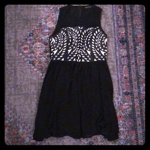 Little black dress with a twist! Size small